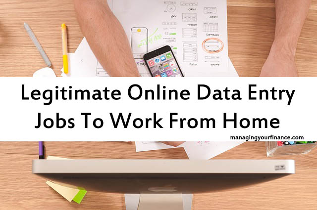 Legitimate Online Data Entry Jobs To Work From Home