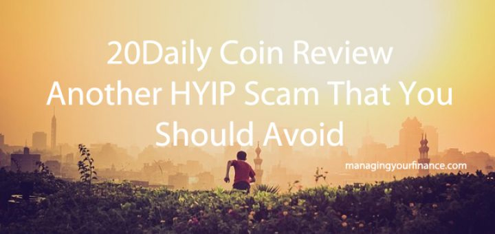 20Daily Coin Review - Another HYIP Scam That You Should Avoid