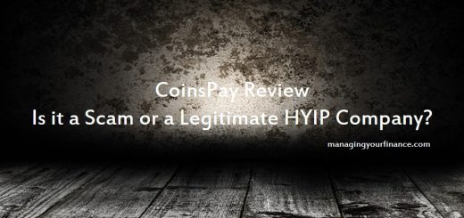 CoinsPay Review - Is it a Scam or a Legitimate HYIP Company
