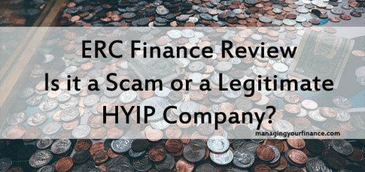 ERC Finance Review - Is it a Scam or a Legitimate HYIP Company