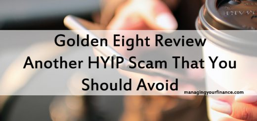 Golden Eight Review - Another HYIP Scam That You Should Avoid