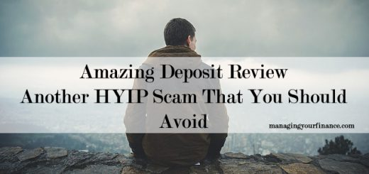 Amazing Deposit Review - Another HYIP Scam That You Should Avoid