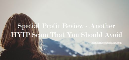 Special Profit Review - Another HYIP Scam That You Should Avoid