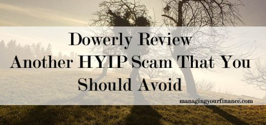 Dowerly Review - Another HYIP Scam That You Should Avoid