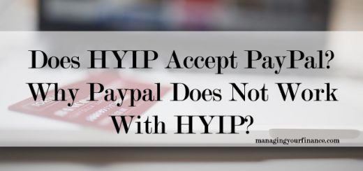 Does HYIP Accept PayPal Why Paypal Does Not Work With HYIP