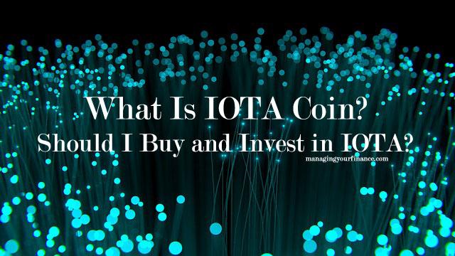 investing in iota coin