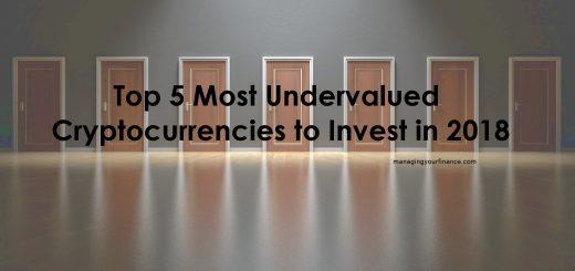 Top 5 undervalued cryptocurrencies