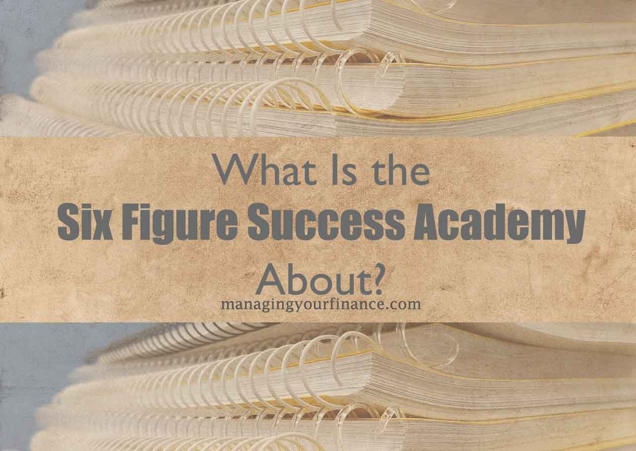 Specs For Six Figure Success Academy  Course Creation