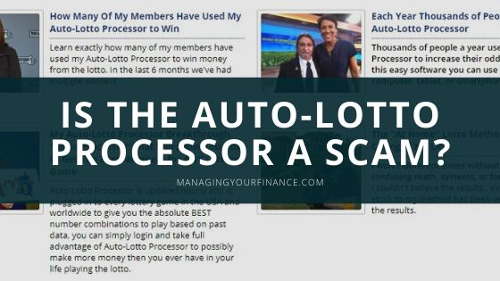 Is the Auto Lotto Processor a Scam – Does It Actually Work??