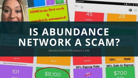 Is Abundance Network a Scam – My Honest Take