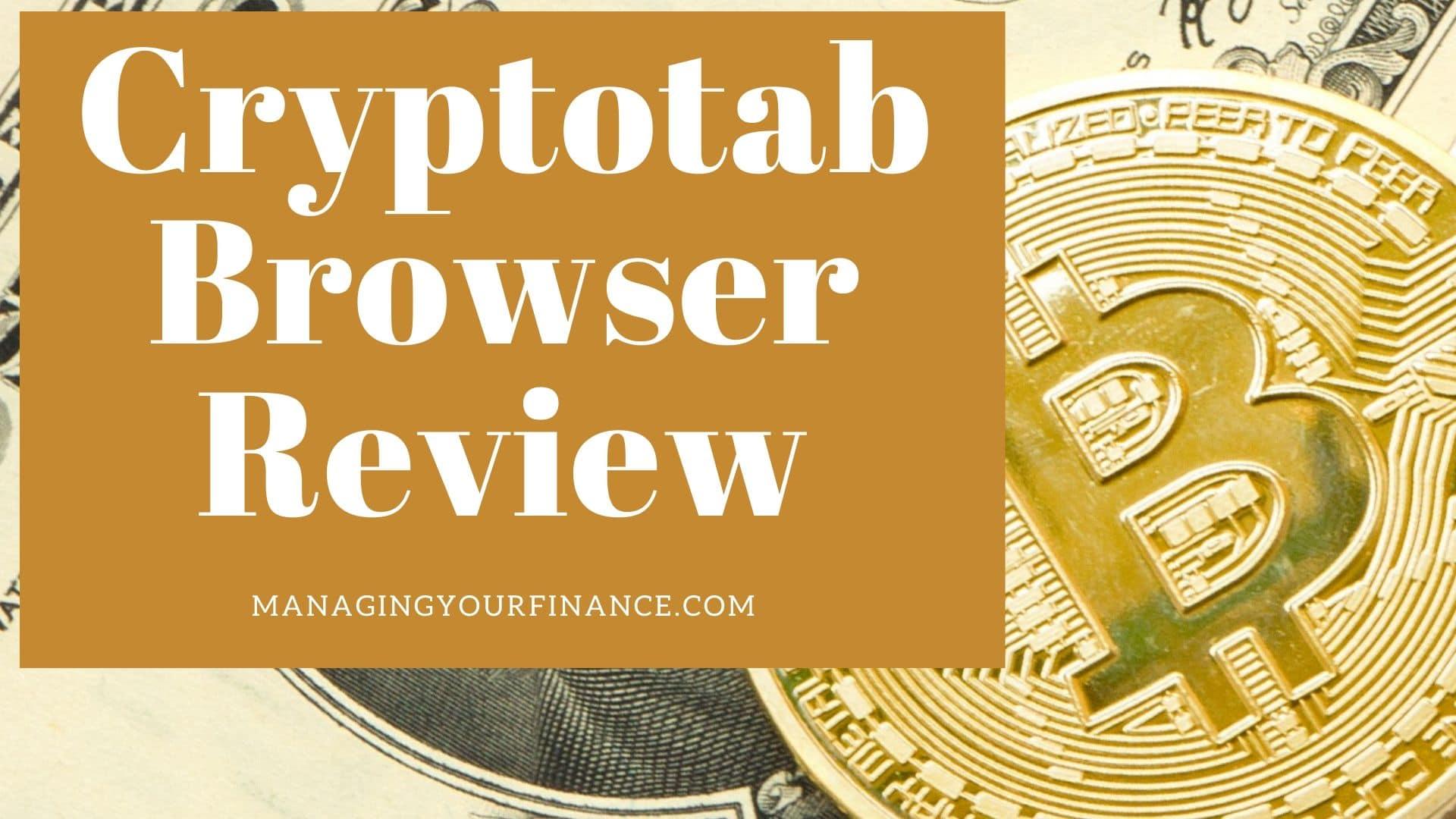 Cryptotab browser review