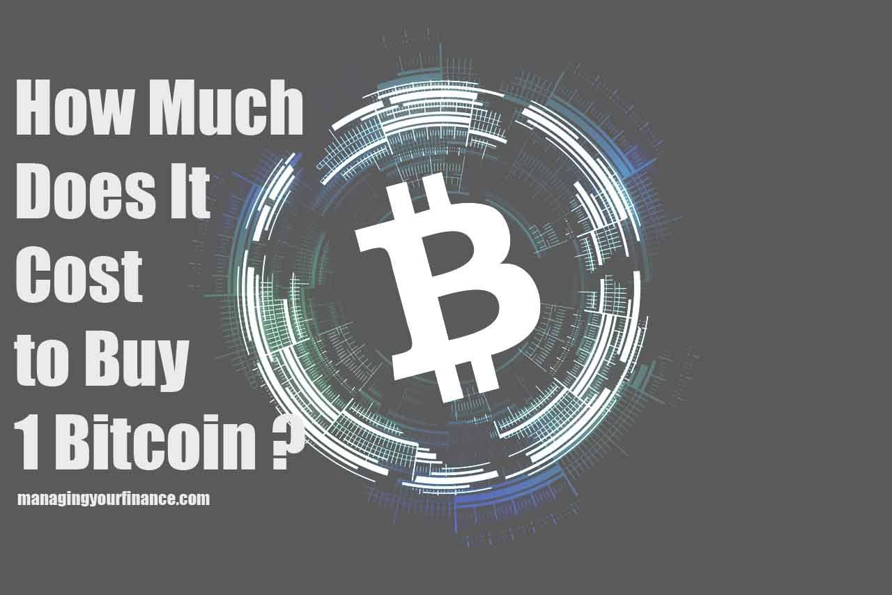 how much is it to purchase one bitcoin